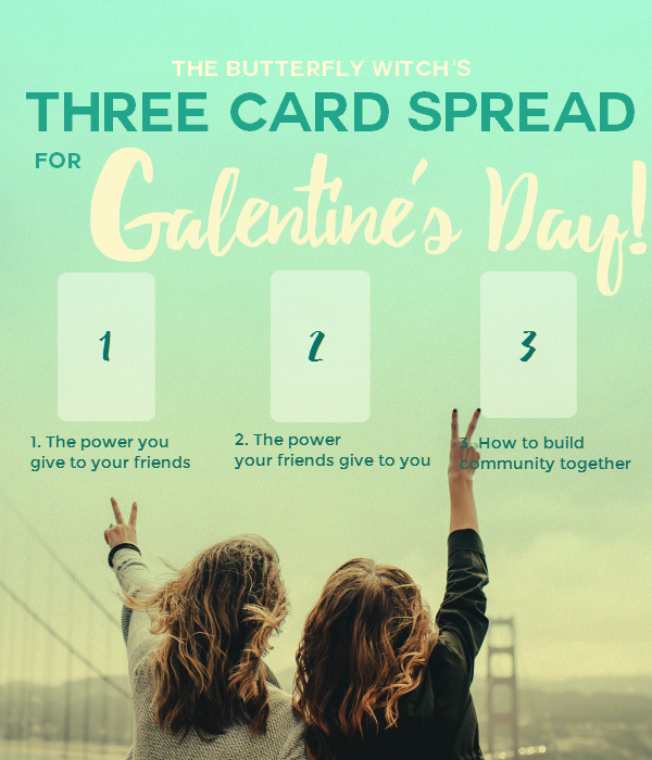 Self-Love Tarot Spread for Valentine's Day PLUS a Bonus Galentine's